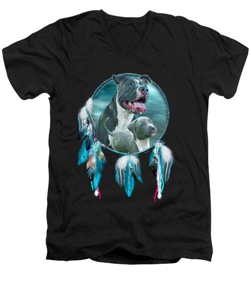 Pit Bulls - Rez Dog Men's V-Neck T-Shirt
