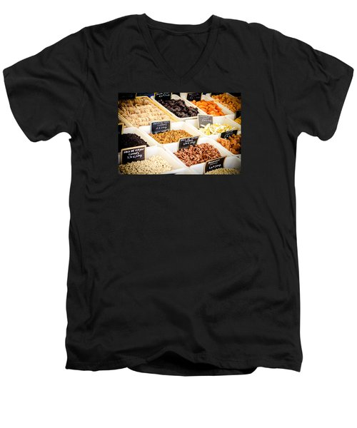 Men's V-Neck T-Shirt featuring the photograph Plain Nutty by Jason Smith