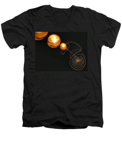 Planet Maker Men's V-Neck T-Shirt