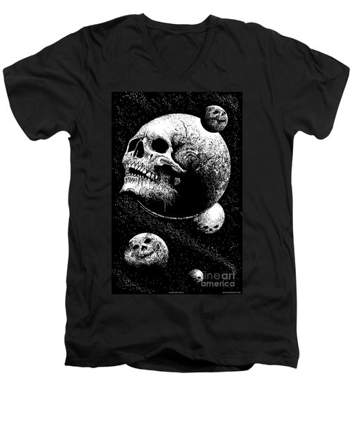 Planetary Decay Men's V-Neck T-Shirt
