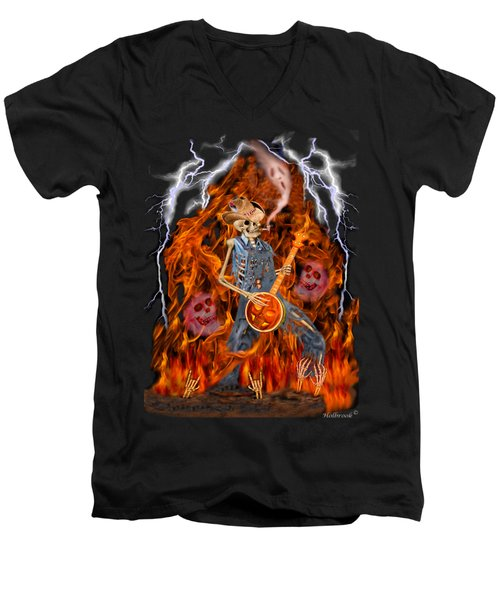 Playing With Fire Men's V-Neck T-Shirt