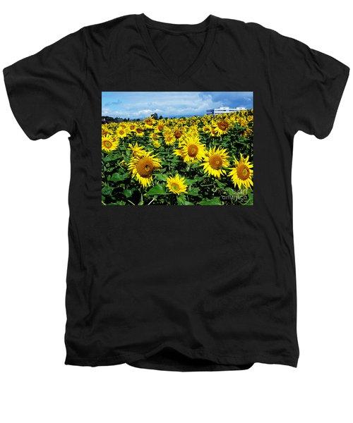 Pleasant Warmth Men's V-Neck T-Shirt