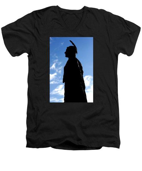 Pocahontas Men's V-Neck T-Shirt
