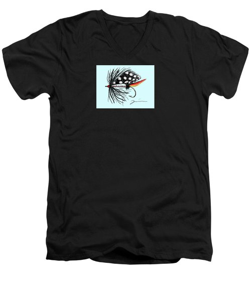 Polka Dot Pike Men's V-Neck T-Shirt