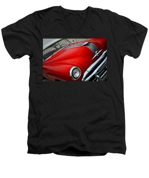 Pontiac Chieftain 1954 Front Men's V-Neck T-Shirt