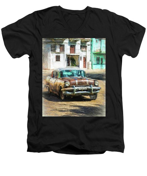 Pontiac Havana Men's V-Neck T-Shirt