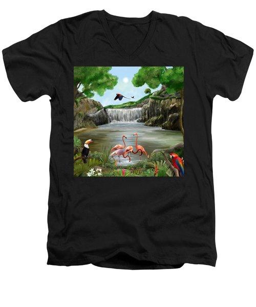 Pool Party Men's V-Neck T-Shirt