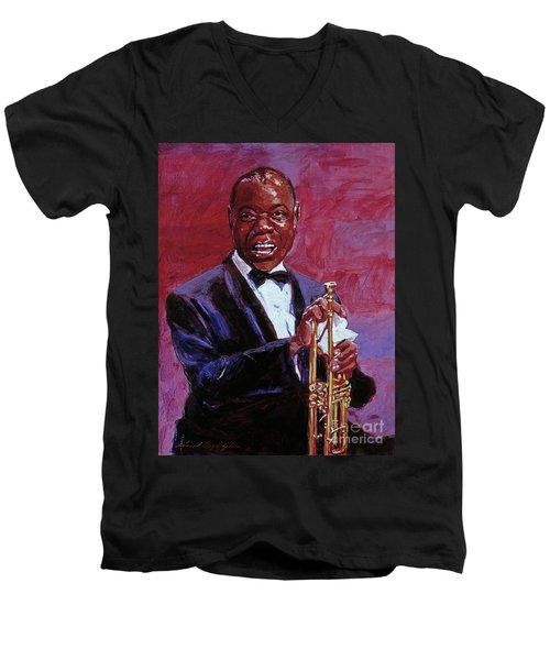 Pops Armstrong Men's V-Neck T-Shirt