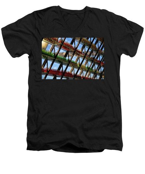 Pop's Bottles Men's V-Neck T-Shirt