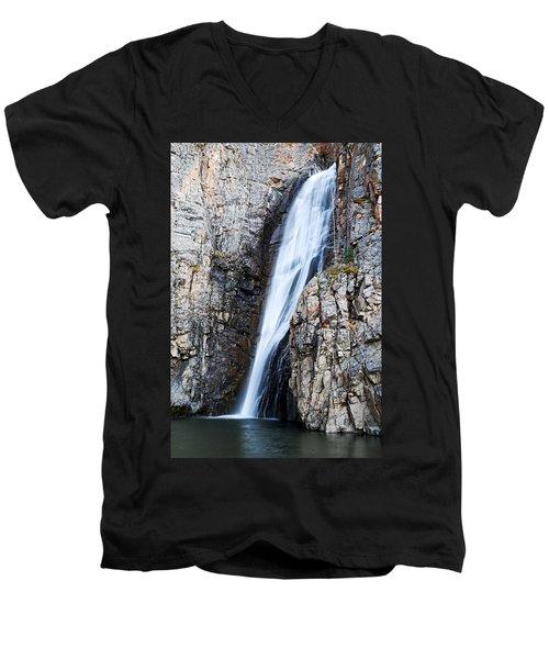 Porcupine Falls Men's V-Neck T-Shirt