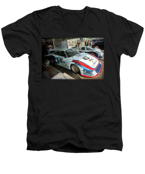 Porsche 935 Moby Dick Men's V-Neck T-Shirt