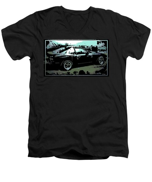 Porsche 944 Men's V-Neck T-Shirt