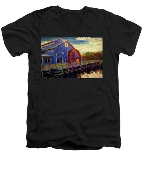 Port Orleans Riverside Men's V-Neck T-Shirt