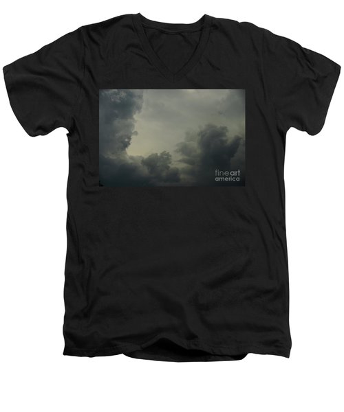 Men's V-Neck T-Shirt featuring the photograph Portal by Jesse Ciazza
