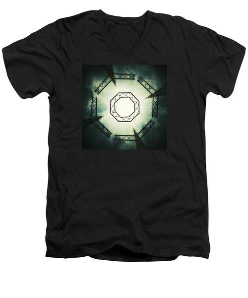 Portal Men's V-Neck T-Shirt by Jorge Ferreira