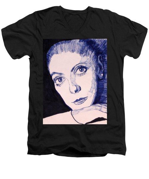 Portrait Of Catherine Men's V-Neck T-Shirt