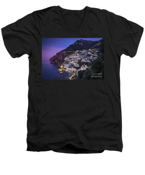 Positano Twilight Men's V-Neck T-Shirt