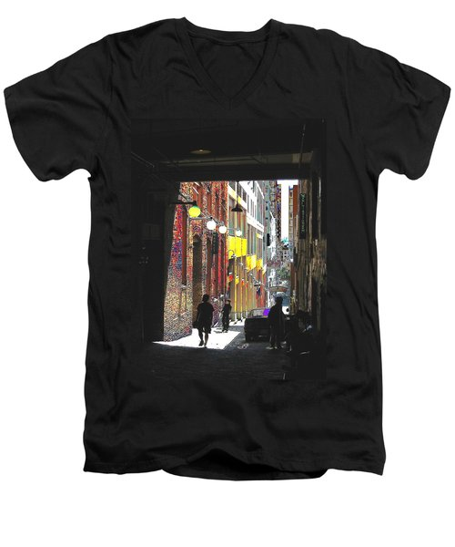 Post Alley Men's V-Neck T-Shirt
