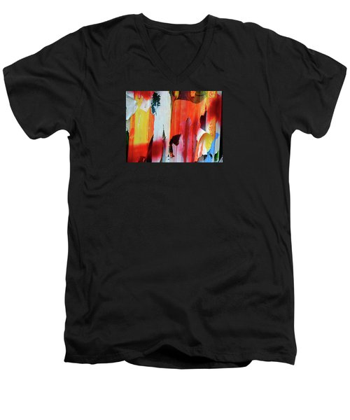 Poster Archaeology 31 Men's V-Neck T-Shirt