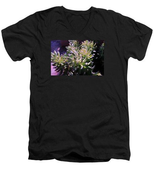 Potmates 4 Men's V-Neck T-Shirt by M Diane Bonaparte