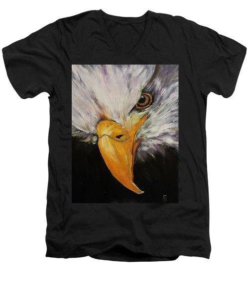 Power And Strength    64 Men's V-Neck T-Shirt
