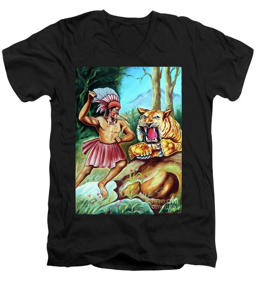 The Beast Of Beasts Men's V-Neck T-Shirt