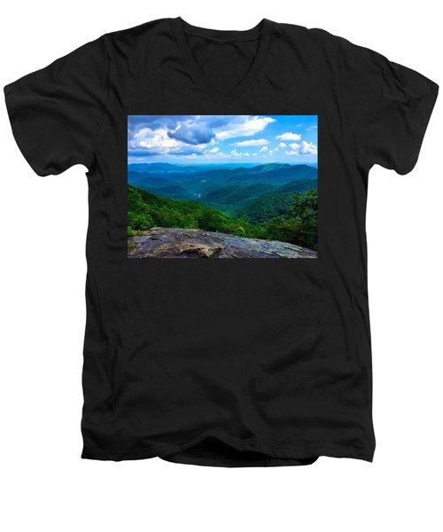 Preacher's Rock Men's V-Neck T-Shirt