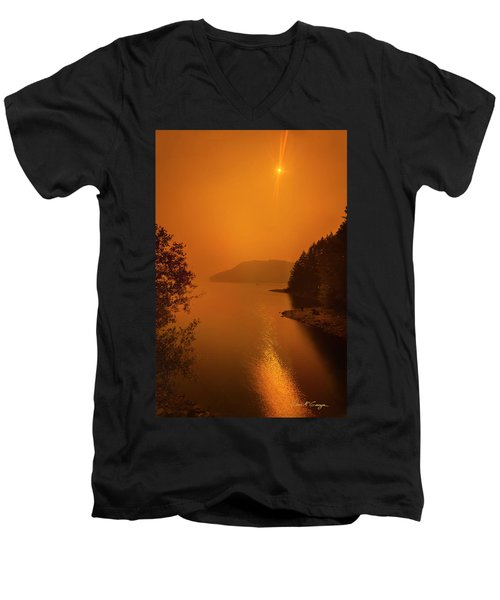 Preclipse 8.17 Men's V-Neck T-Shirt