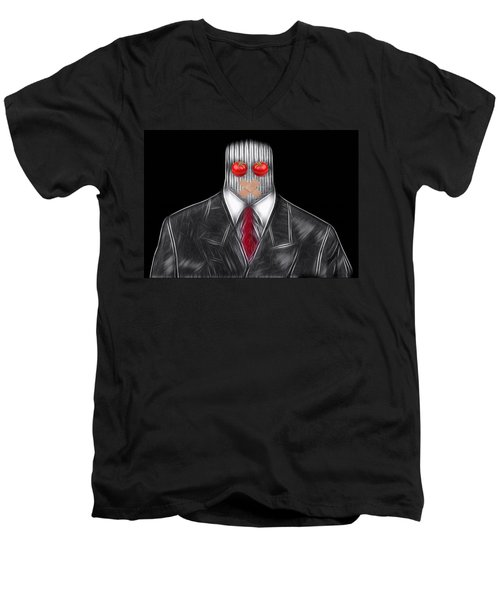 Press Officer Men's V-Neck T-Shirt