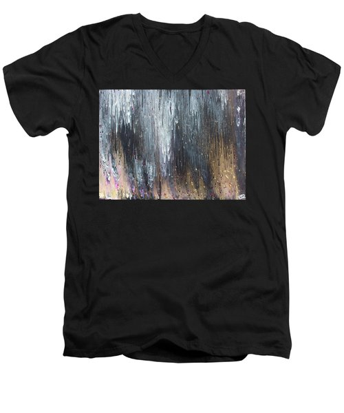 Pretty Hurts Men's V-Neck T-Shirt by Cyrionna The Cyerial Artist