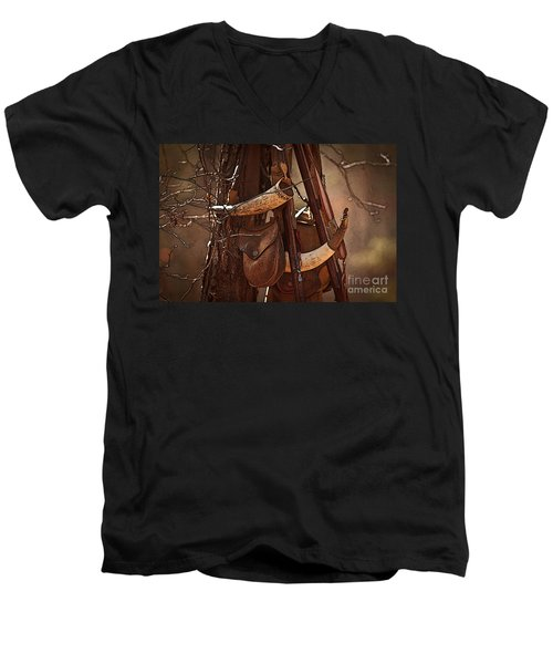 Primitive Arsenal Men's V-Neck T-Shirt