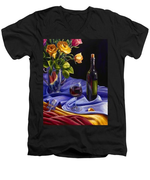 Private Label Men's V-Neck T-Shirt