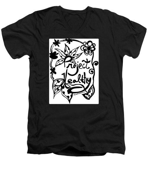 Project Healthy Men's V-Neck T-Shirt