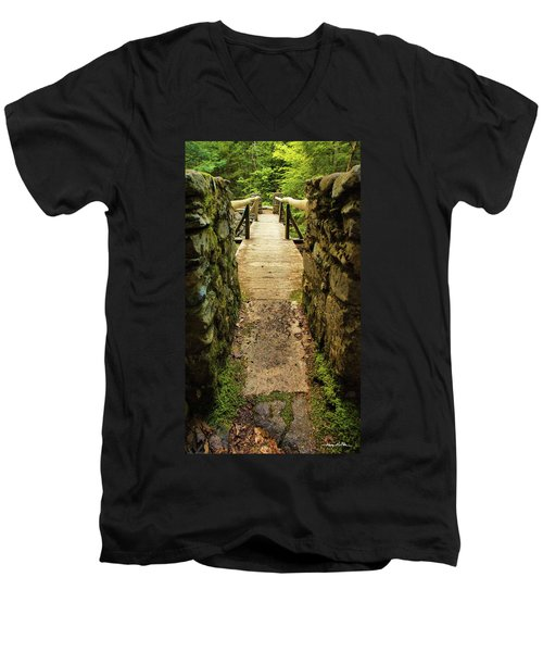Prospective Memorial Bridge Men's V-Neck T-Shirt