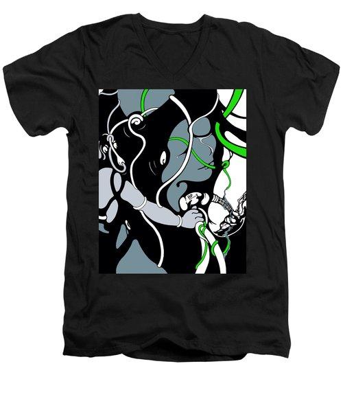 Pumped Men's V-Neck T-Shirt