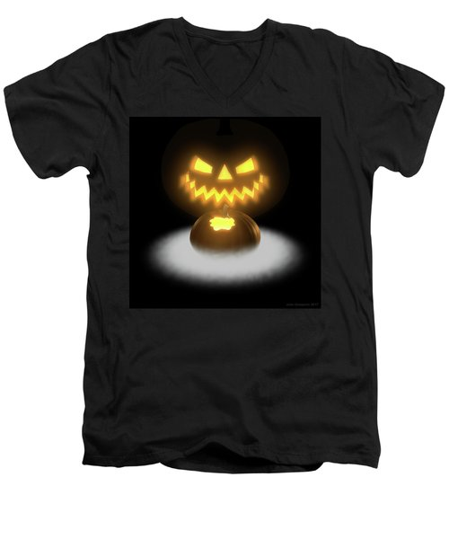Pumpkin And Co II Men's V-Neck T-Shirt