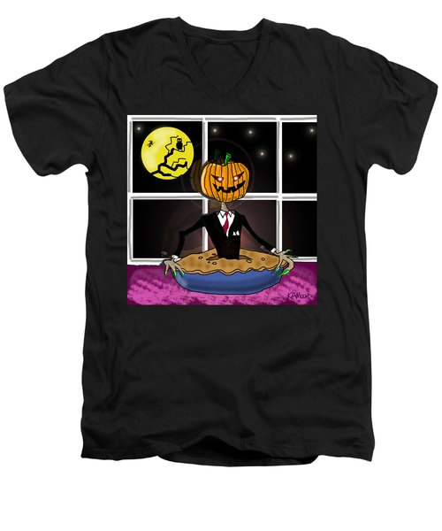 Pumpkin Pie Men's V-Neck T-Shirt