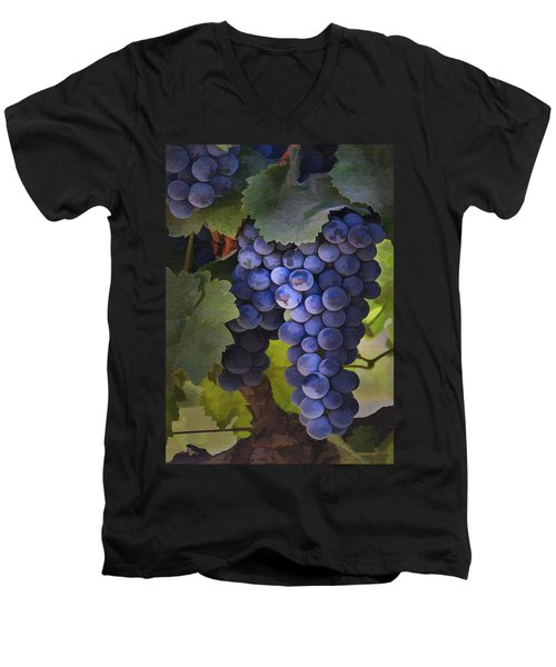Purple Blush Men's V-Neck T-Shirt