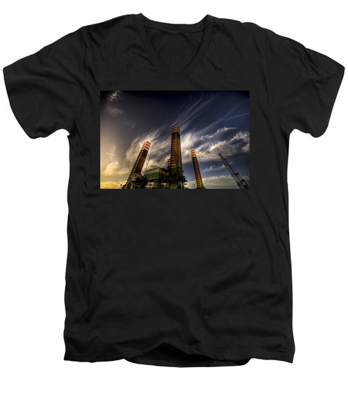 Pylons Men's V-Neck T-Shirt