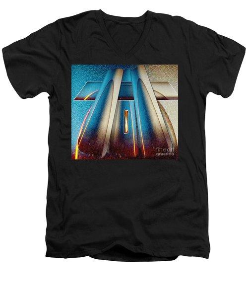 Pyramid Men's V-Neck T-Shirt