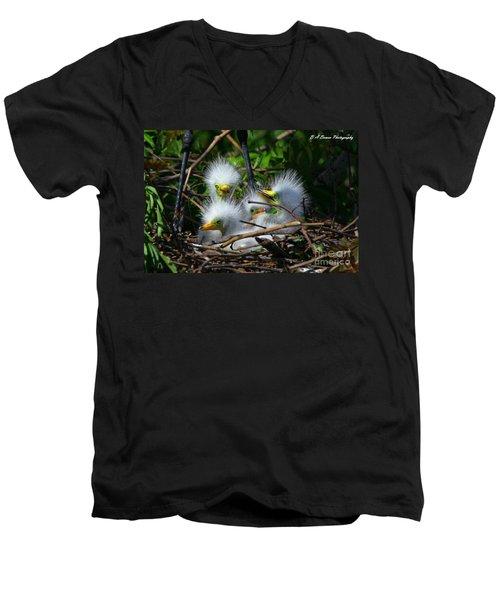 Quadruplets Men's V-Neck T-Shirt
