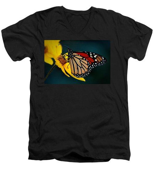Queen Monarch 2 Men's V-Neck T-Shirt
