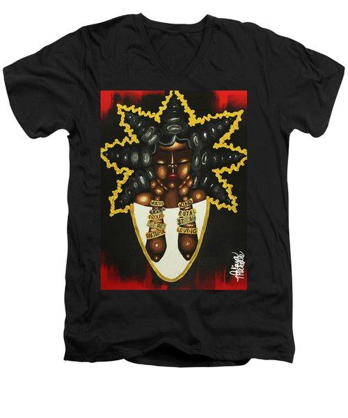 Queenisms Men's V-Neck T-Shirt