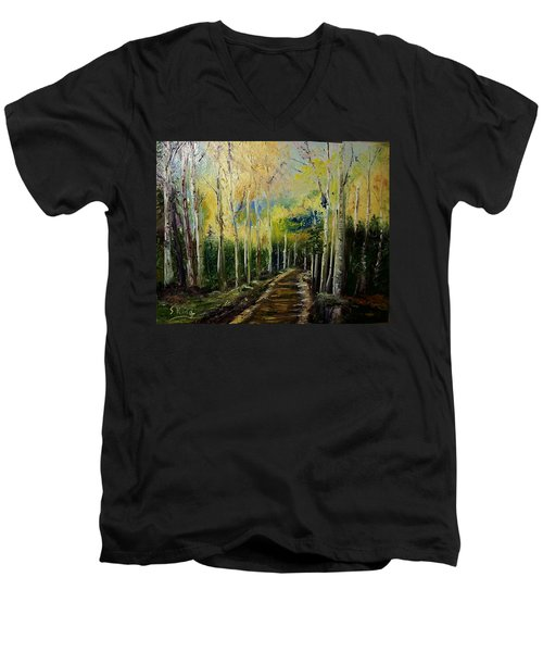 Quiet Place Men's V-Neck T-Shirt