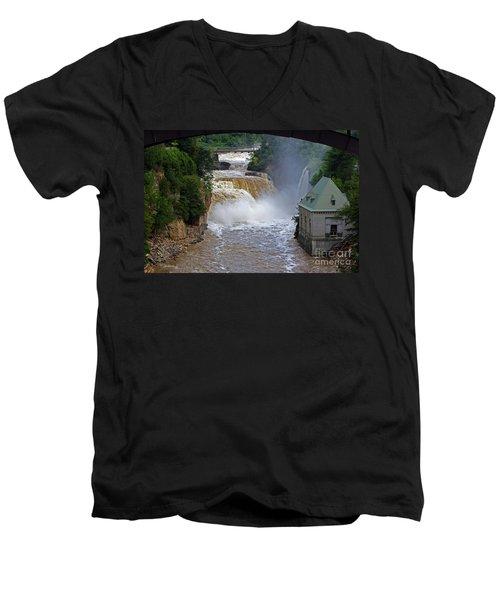 Raging River Men's V-Neck T-Shirt