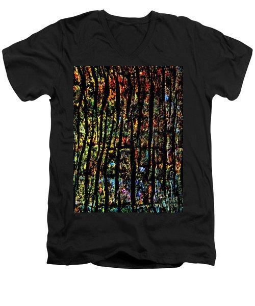 Rain Forest  Men's V-Neck T-Shirt