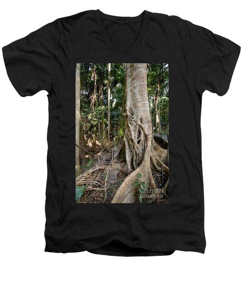 Rainforest Majesty Men's V-Neck T-Shirt