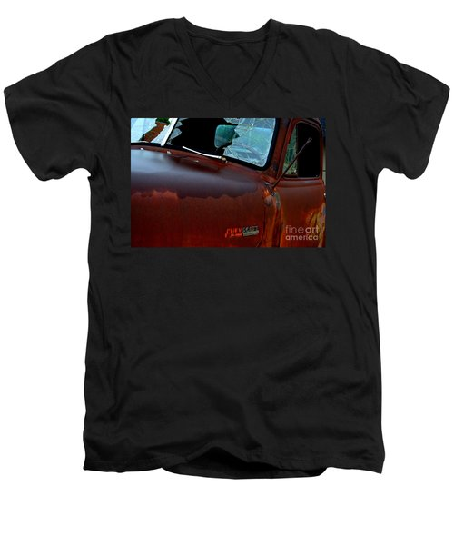 Rainy Day Chevrolet 4 Men's V-Neck T-Shirt