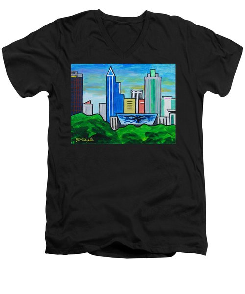 Raleigh Skyline 3 Men's V-Neck T-Shirt