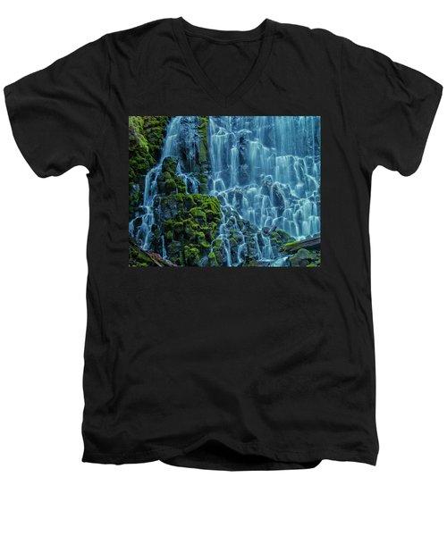 Ramona Falls  Men's V-Neck T-Shirt